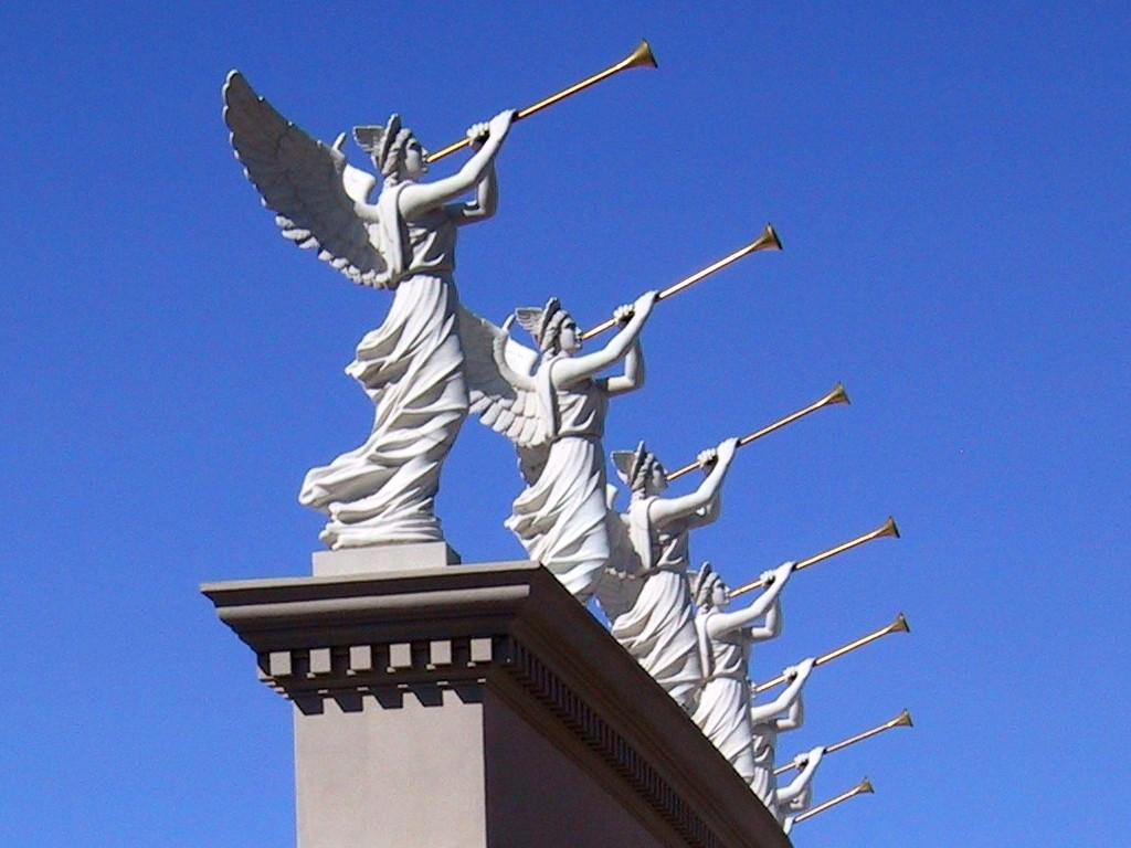 The Seven Trumpets of St John's Revelation